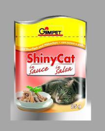 GIMPET Shinycat alutasakos tonhal /csirke  85 gr