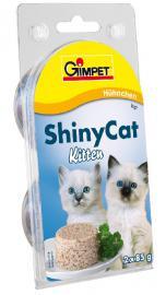 GIMPET Shinycat kitten csirkés 85 gr
