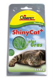Gimpet ShinyCat Thunfisch + Gras, tonhal és fű pástétom prémium eledel 85 g