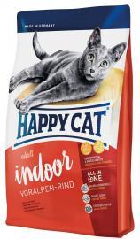 Happy Cat Adult Indoor Voralpen-Rind - alpesi marhahúsból készült teljesértékű szárazeledel lakásban tartott, alacsonyabb energiaszükségletű felnőtt macskáknak