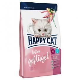HAPPY CAT Fit&Well KITTEN BAROMFI száraz eledel kölyök cicáknak 5 hetes kortól