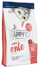 HAPPY CAT Sensitive Ente száraz eledel érzékeny cicáknak kacshússal, gluténmentes összetevőkkel