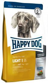 HAPPY DOG Fit&Well Light 1 - LOW CARB száraz eledel túlsúlyos kutyáknak, alacsony szénhidrát tartalommal
