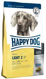 HAPPY DOG Fit&Well Light  2 - LOW FAT száraz eledel túlsúlyos kutyáknak, alacsony zsírtartalommal