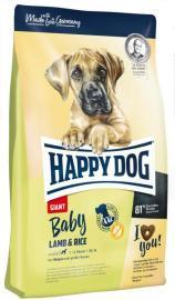 HAPPY DOG GIANT BABY Lamb & Rice teljes értékű bárány rizses száraz eledel nagytestű kutyáknak 4 hetes kortól