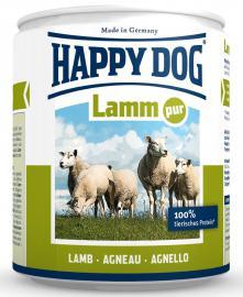 HAPPY DOG Lamm Pur 100 % bárányhús konzerv, táplálék allergiás kutyáknak, 200 g, 400 g, 800 g