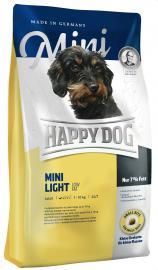 HAPPY DOG MINI Light LOW FAT száraz eledel túlsúlyos kistestű kutyáknak, alacsony zsírtartalommal