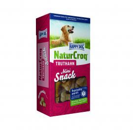 HAPPY DOG Natur Snack Truthahn pulykahúsos mini keksz kistestű kutyáknak