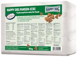 HAPPY DOG Pansen-Ecken fogtisztításra zöld gyomorral, igényes kutyáknak