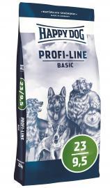 HAPPY DOG PROFI  23/9,5  STANDARD  száraz kutyaeledel alacsony aktivitású felnőtt kutyáknak