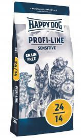 HAPPY DOG PROFI  24/14  SENSITIVE  száraz kutyaeledel gluténmentes száraztáp érzékeny emésztésű felnőtt kutyáknak