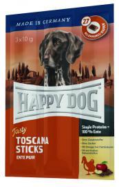 HAPPY DOG Tasty Toscana Stick kolbászka kutyáknak 100 % kacsából