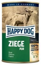 HAPPY DOG Ziege Pur Kecske kiegészítő konzerv kutyáknak - egyféle fehérjeforrással - 100 % kecske, 400 g