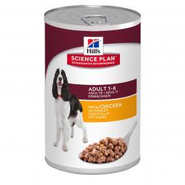 Hill's SP Canine Adult Chicken konzerv csirkehússal felnőtt kutyáknak 370 g