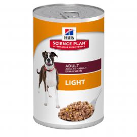 Hill's SP Canine Adult Light Chicken konzerv felnőtt kutyáknak 370 g