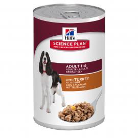 Hill's SP Canine Adult Turkey konzerv pulykahússal felnőtt kutyáknak 370 g