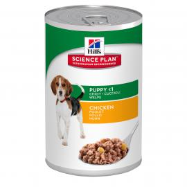 Hill's SP Canine Puppy Chicken konzerv csirkehússal kölyök kutyáknak 370 g