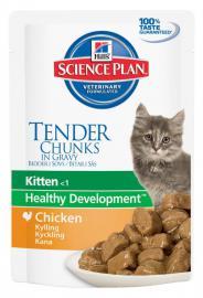 Hill's SP Feline Kitten Chicken alutasakos konzerv csirkehússal kölyök cicáknak 85 g