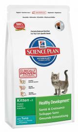 Hill's SP Feline Kitten Tuna száraz táp tonhallal kölyök cicáknak