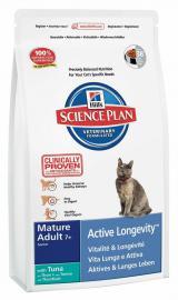 Hills SP Feline Mature Adult 7+ Tuna száraz táp tonhallal idős cicáknak