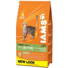 Iams Cat Adult R/I Lamb száraz táp bárányhússal felnőtt cicáknak