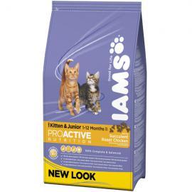 Iams Cat Kitten & Junior száraz táp kölyök cicáknak