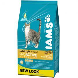 Iams Cat Light R/I Chicken száraz táp csirkehússal hízásra hajlamos felnőtt cicáknak