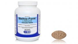Methio-Form tabletta a vizelet savanyítására kutyák és macskák részére 50 db-os