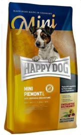 HAPPY DOG SUPREME MINI Piemonte gabonamentes szárazeledel kacsahússal, tengeri hallal és szelídgesztenyével kistestű kutyáknak