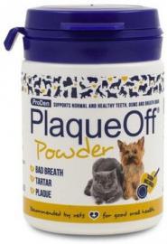 PlaqueOff Animal fogkőoldó készítmény kutyák és macskák részére 40 g
