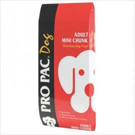 PRO PAC Adult Mini Chunk száraztáp átlagosan aktív kutyák számára három féle kiszerelésben