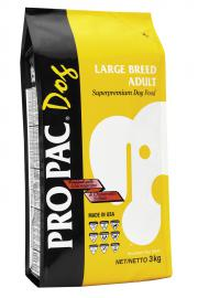 PRO PAC Large Breed Adult száraztáp nagytestű felnőtt kutyák számára két féle kiszerelésben