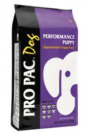 PRO PAC Performance Puppy száraztáp kölyök kutyák számára három féle kiszerelésben