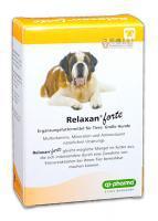Relaxan Forte nyugtató hatású tabletta kutyák részére 30 db-os