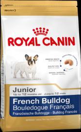 Royal Canin Breed French Bulldog 30 Junior - kutyatáp fajtatiszta francia bulldogoknak 1kg-os, és 4 kg-os kiszerelésben