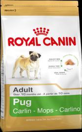 Royal Canin Breed Pug 25 száraz táp mopsz felnőtt kutyáknak
