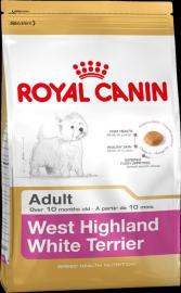 Royal Canin Breed West Highland White Terrier 21 száraz táp westi felnőtt kutyáknak