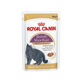 Royal Canin British Shorthair Adult alutasakos konzerv brit rövidszőrűfajtájú felnőtt cicáknak 85 g