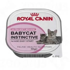 Royal Canin Feline Babycat Instinctive 10 tálcás konzerv kölyök cicáknak 100 g