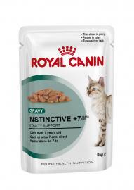 Royal Canin Feline Instinctive 7 tasakos konzerv 7 évnél idősebb felnőtt cicáknak 85 g