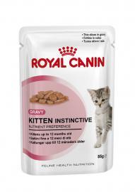 Royal Canin Feline Kitten Instinctive 12 tasakos konzerv kölyök cicáknak 85 g