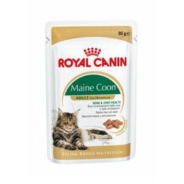 Royal Canin Maine Coon Adult alutasakos konzerv Maine Coon fajtájú felnőtt cicáknak 85 g