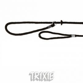 TRIXIE1996 Nylon felvezető póráz  kutyáknakl,  fekete színben,
